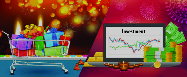 What to pick this Diwali Shopping or Investing?